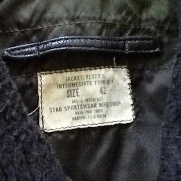 G-1ジャケット2