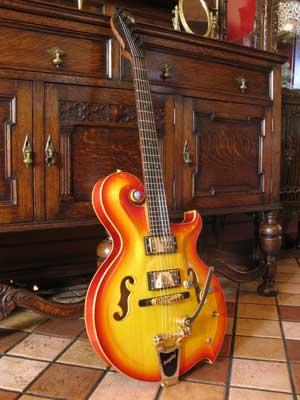 フルアコギター