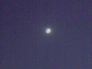 皆既日食の瞬間
