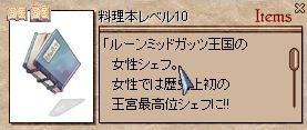 料理本LV10