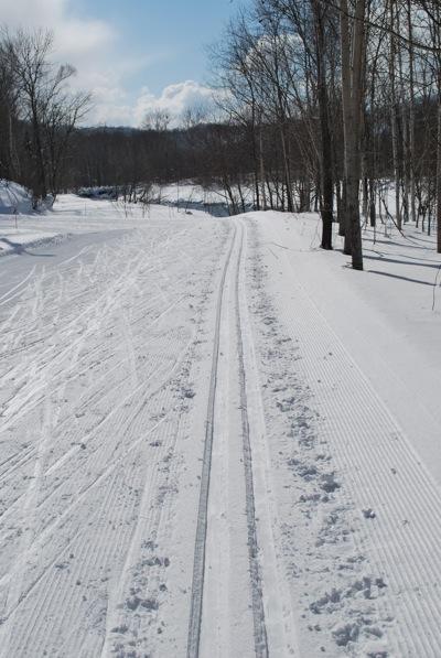 伊達市大滝区のクロスカントリースキーコース