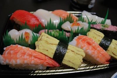 ポスフールのお寿司