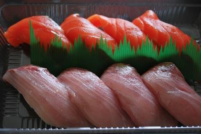 北々亭のお寿司テイクアウト