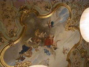 ヴィッラコーラの天井