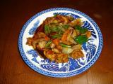 2009 04 06 鶏モモ肉の甘酢ソース.JPG