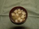 ④わらびと油揚げのお味噌汁.JPG