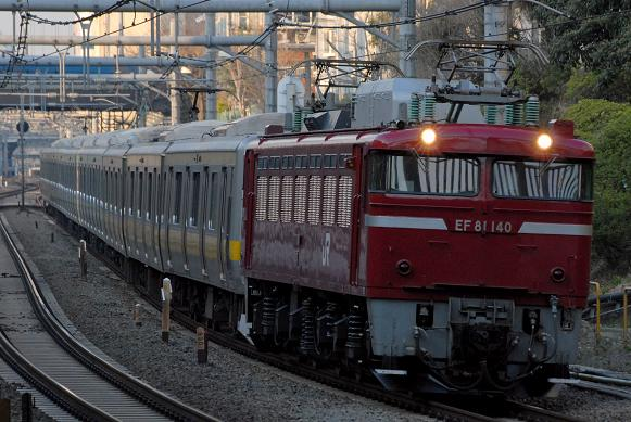 配9772レ EF81-140 E231