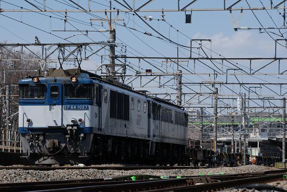 配6894レ EF64-1027+EF65-1091