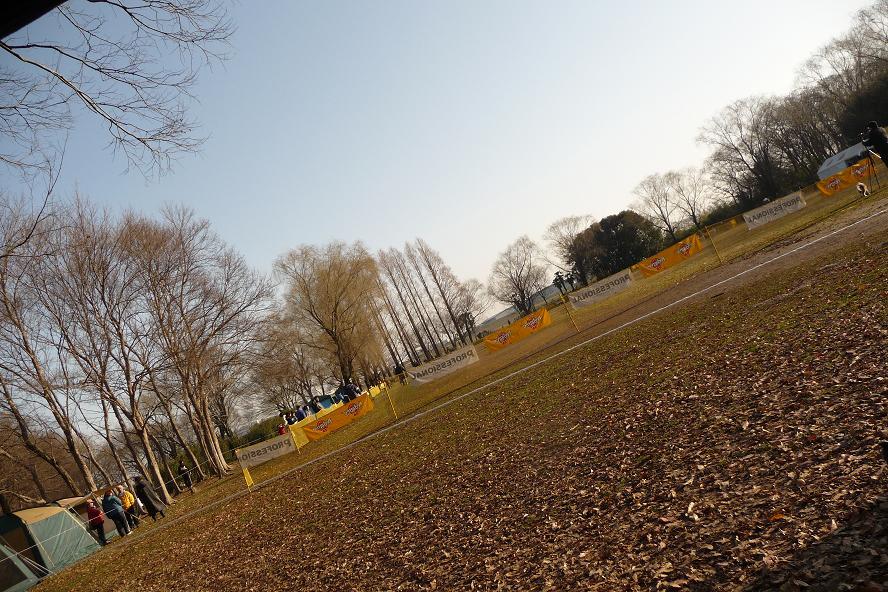 2月22日秋ヶ瀬公園三ツ池グランド