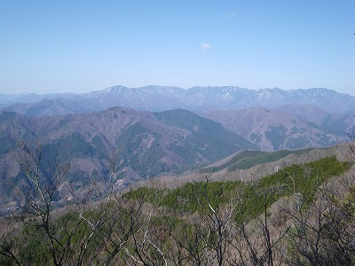 奈良倉山方向