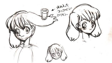 ランカの髪型について