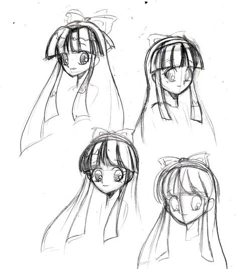 ナコルルの髪型練習