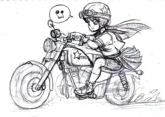 バイク少女01
