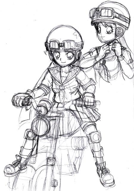 バイク少女02