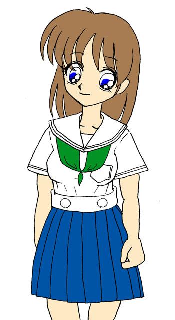 樟蔭高校の夏制服