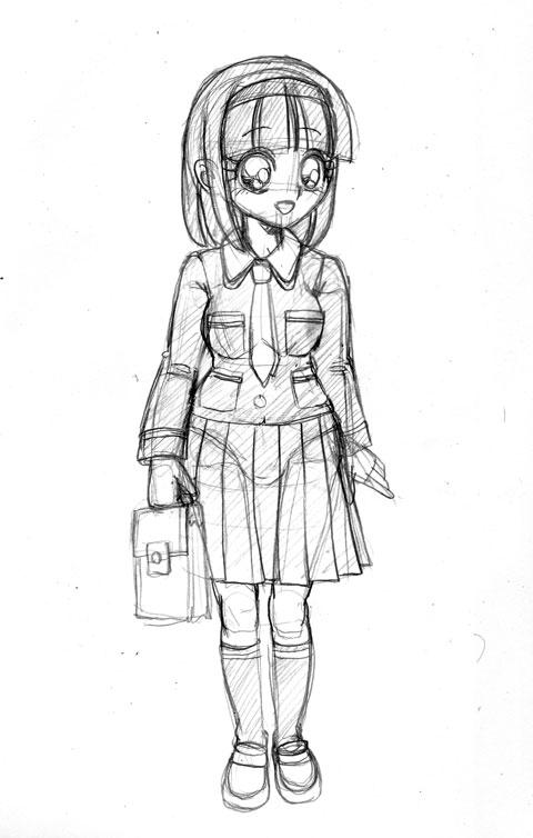 羽衣学園制服