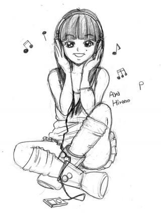 平野綾 描いてみた