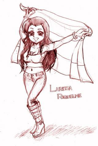 パラグアイ勝利の女神