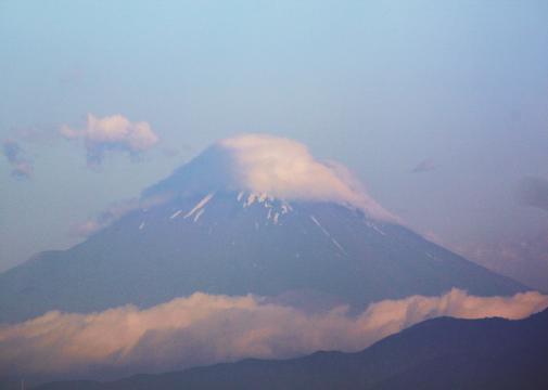 久しぶりの富士
