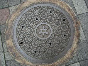 京都マンホール・御所車