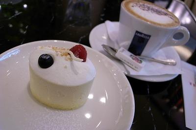 081116タイガーカフェ本日のケーキセット