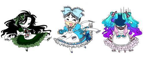 アリス三姉妹