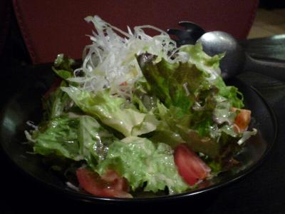 4.ゴマドレッシングサラダ