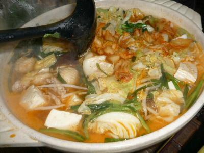 4.キムチ鍋