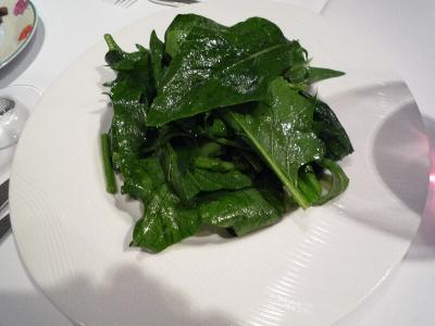 5.ほうれん草サラダ