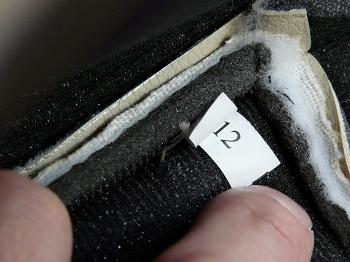 カバーの番号