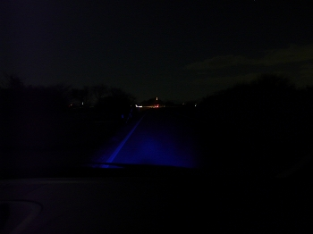 LED照射範囲