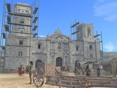 リマの教会(建設途中)