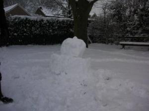 雪だるまその1