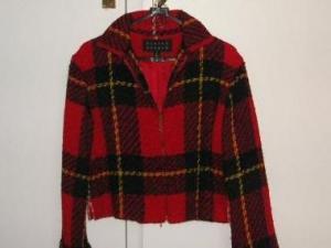 赤いジャケットも