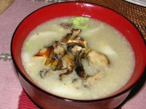 里芋と雑穀のスープ