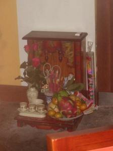 仏壇があちこちに