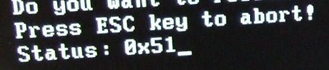 iPrep DOS 電源オンオフ前2