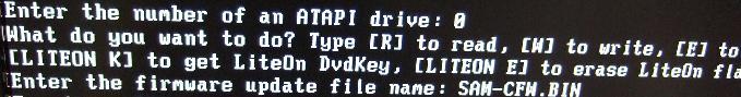 iPrep DOS 書き込み準備2