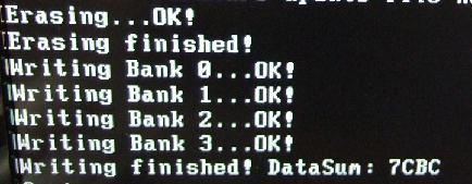 iPrep DOS 書き換え成功