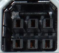 Falconアダプター入力形状