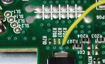 Lite-on DG-16D2Sへの電線挿入