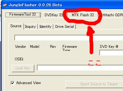 JungleFlasher MTK Flash32 Push
