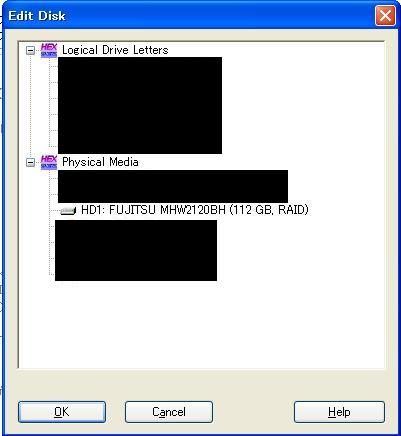 WinHex Edit Disk