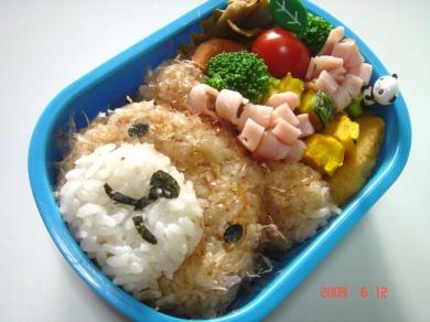 2009年6月12日のお弁当