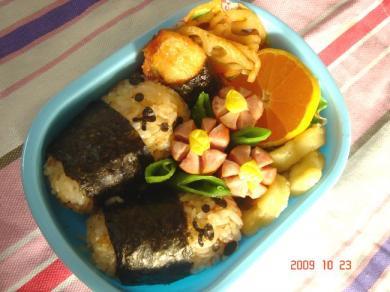 2009年10月23日のお弁当