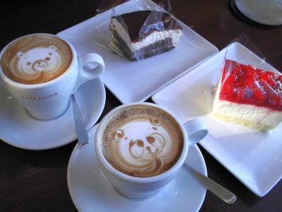 20090301 CAFE ROSSO ケーキセット