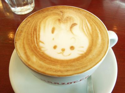 20110626 CAFE ROSSO カプチーノ