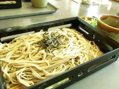 20110626 蒜山 そばの館 ざる蕎麦並