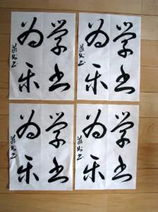 2009.1.29  1月競書用 004