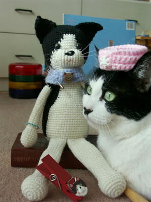 編みねこさん